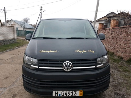 Volkswagen T6 (Transporter) груз 2017