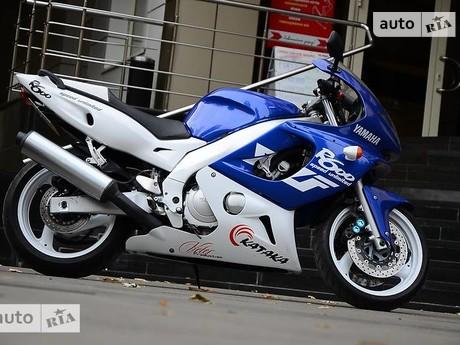 Yamaha YZF 2002