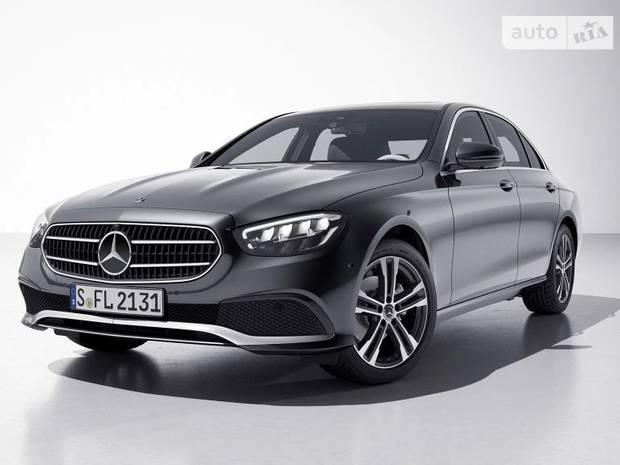 Современная элегантность Mercedes-Benz E-Class
