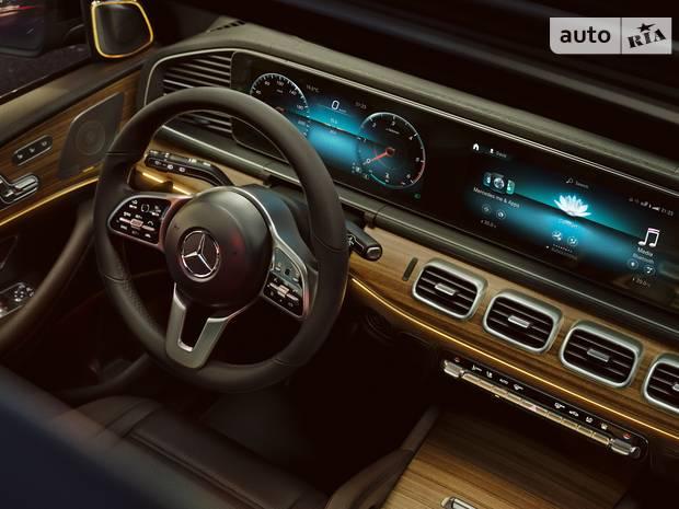 Комфорт - головна запорука Mercedes GLE