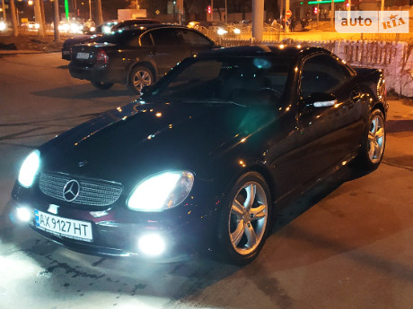 Mercedes-Benz SLK 200 2002