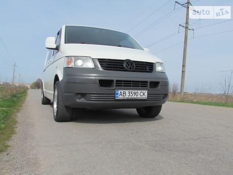 Volkswagen T5 (Transporter) груз-пасс. 2006