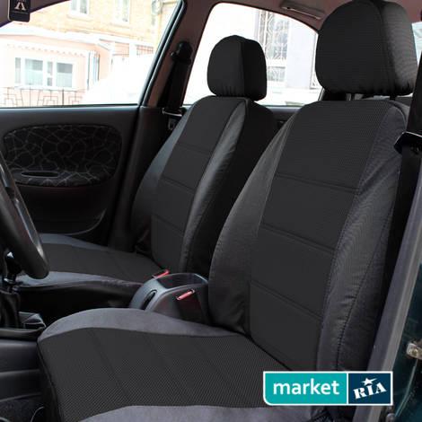 Чехлы на сиденья AVto-AMbition Universal (Кожзам + Автоткань): фото - MARKET.RIA