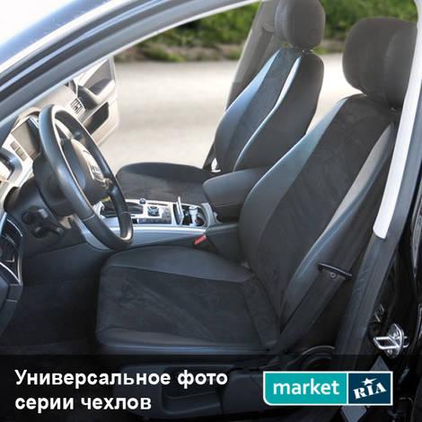 Чехлы на сиденья AVTOMANIA L-LINE (Экокожа + Алькантара): фото - MARKET.RIA