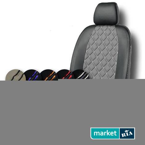 Чехлы на сиденья AVTOMANIA R-LINE (Экокожа): фото - MARKET.RIA