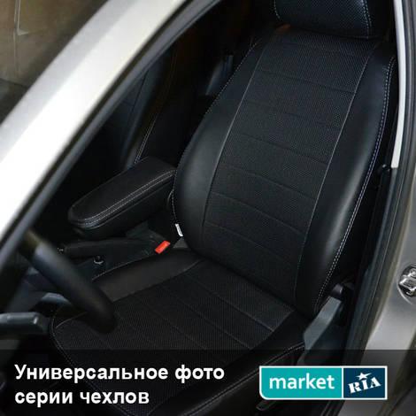 Чехлы на сиденья AVTOMANIA S-LINE (Экокожа): фото - MARKET.RIA