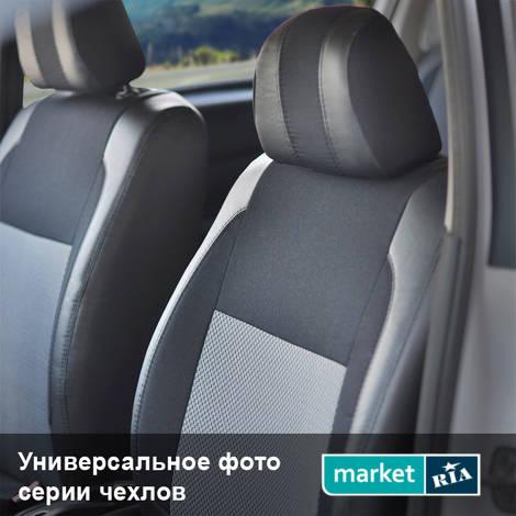 Чехлы на сиденья EMC-Elegant Premium (Экокожа + Автоткань): фото - MARKET.RIA