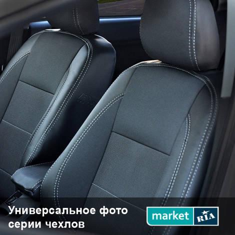 Чехлы на сиденья MW Brothers Premium Style (Экокожа + Автоткань): фото - MARKET.RIA