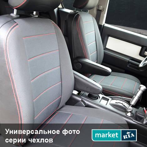 Чехлы на сиденья Союз-Авто Pilot (Экокожа + Автоткань): фото - MARKET.RIA