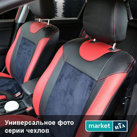 Чехлы на сиденья Союз-Авто Elite-Sport (Экокожа + Алькантара): фото - MARKET.RIA