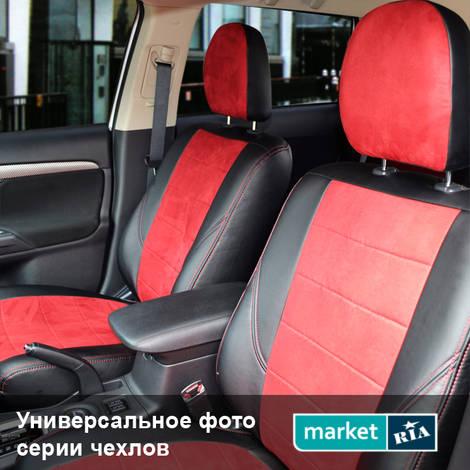 Чехлы на сиденья Союз-Авто Pilot (Экокожа + Алькантара): фото - MARKET.RIA
