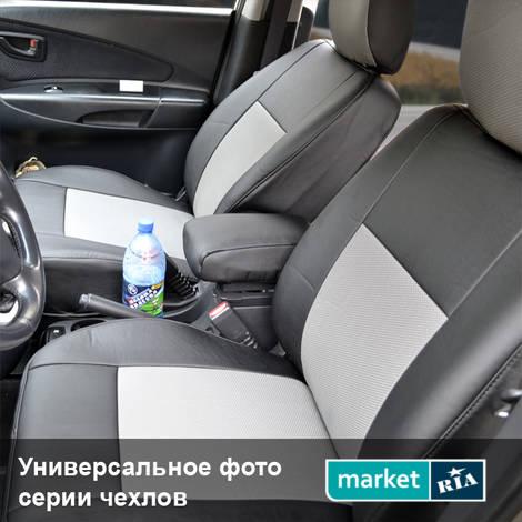 Чехлы на сиденья Союз-Авто Standart (Экокожа): фото - MARKET.RIA