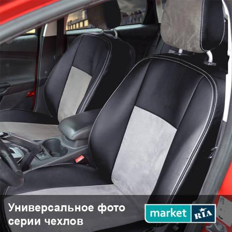 Чехлы на сиденья Союз-Авто Standart (Экокожа + Алькантара): фото - MARKET.RIA