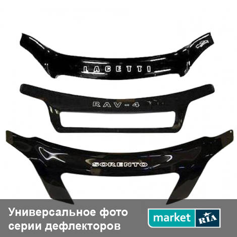 Дефлекторы капота Vip Tuning Plastic: фото - MARKET.RIA