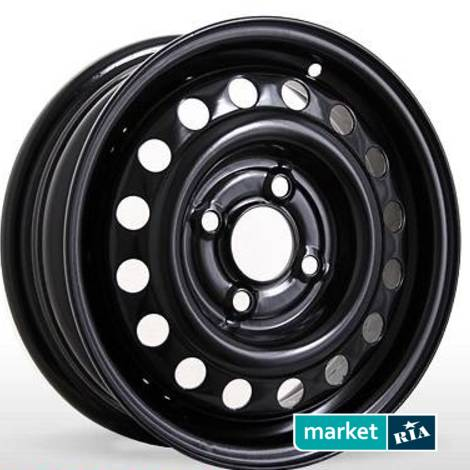 Стальные диски Steel Wheels H149 Black   (R17 W6.5 PCD5x114.3 ET40 DIA67.1): фото - MARKET.RIA