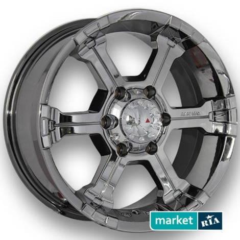 Литые легкосплавные диски Mi-Tech MK-36 Chrome   (R20 W8.5 PCD6x139.7 ET22 DIA73.1): фото - MARKET.RIA