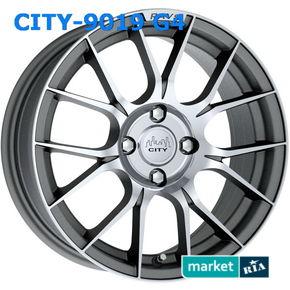 литые легкосплавные диски City 9019 G4