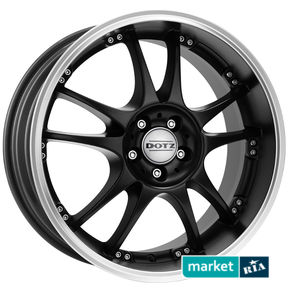 литые легкосплавные диски Dotz Brands Hatch Dark Black