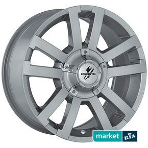 литые легкосплавные диски Fondmetal 7700 Silver