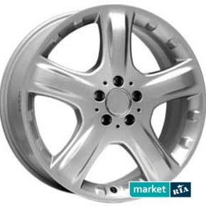 литые легкосплавные диски For Wheels ME 419f Silver