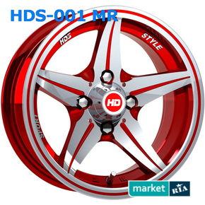 литые легкосплавные диски HDS 001 MR