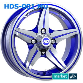 литые легкосплавные диски HDS 001 MU