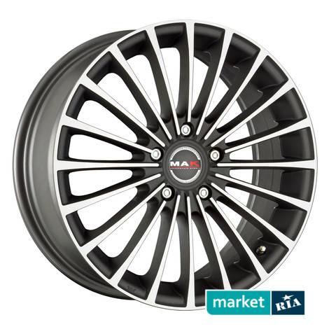 Литые легкосплавные диски MAK Corsa Ice Black   (R15 W6.5 PCD5x112 ET35 DIA76): фото - MARKET.RIA