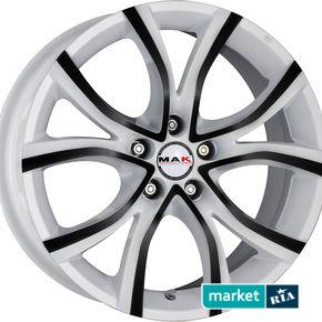 литые легкосплавные диски MAK Nitro Anod White Black