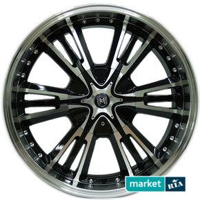 литые легкосплавные диски Marcello Wheels AIM-033 Black