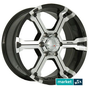 литые легкосплавные диски Marcello Wheels MK-36 Black