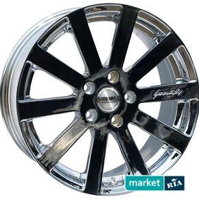 литые легкосплавные диски Racing Wheels H-339 Chrome