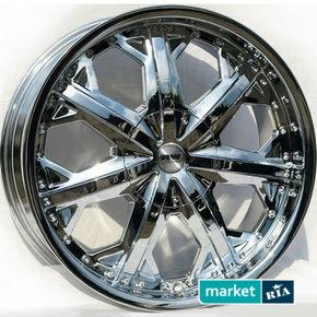 литые легкосплавные диски Racing Wheels H-378 Chrome