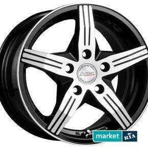 литые легкосплавные диски Racing Wheels H-458 BK-F/P