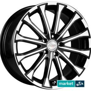 литые легкосплавные диски Racing Wheels H-461 BK-F/P