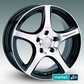 литые легкосплавные диски Racing Wheels H-531 BK-F/P