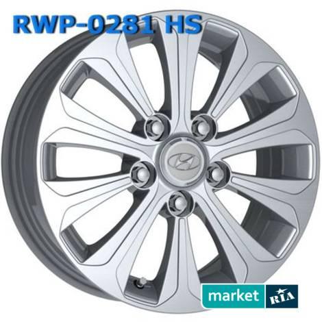 Литые легкосплавные диски  RWP  (R18 W7.5 PCD5x114.3 ET48 DIA67.1): фото - MARKET.RIA