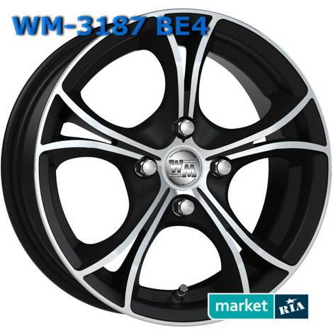 Литые легкосплавные диски  WM  (R14 W6 PCD4x100 ET37 DIA67.1): фото - MARKET.RIA