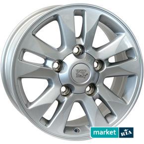 литые легкосплавные диски WSP Italy W1758 Jeddah Silver