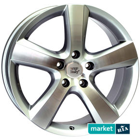 литые легкосплавные диски WSP Italy W451 Dhaka Silver Polished