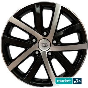 литые легкосплавные диски WSP Italy W460 Rheia Glossy Black Polished