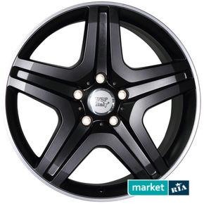 литые легкосплавные диски WSP Italy W775 Miyagi Dull Black Polished