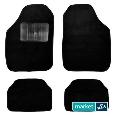Коврики в салон Elegant Текстиль B из ворса (черные) для Elegant Mats: фото - MARKET.RIA