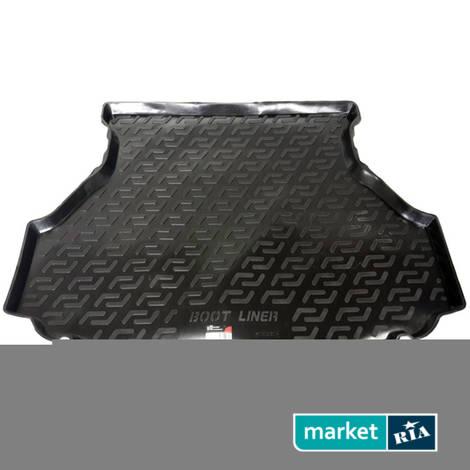 Коврики в багажник L.Locker Plastic: фото - MARKET.RIA