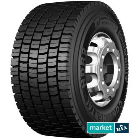 Всесезонные шины Continental   HDR2 (315/80R22.5 156L): фото - MARKET.RIA