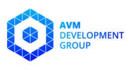 Логотип будівельної компанії AVM Development Group (АВМ Девелопмент групп)