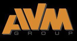 Логотип строительной компании AVM Group