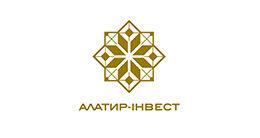 Логотип будівельної компанії Алатир-Інвест