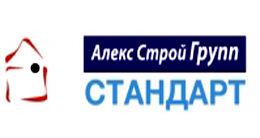 Логотип строительной компании Алекс Строй Групп