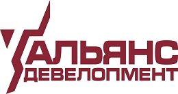 Логотип будівельної компанії Альянс-Девелопмент