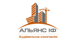 Логотип строительной компании Альянс ІФ